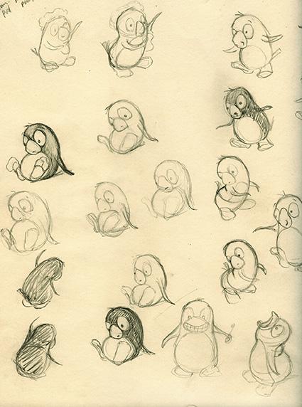 Pod the Penguin